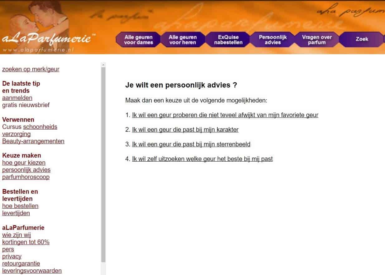 webhop alaparfumerie