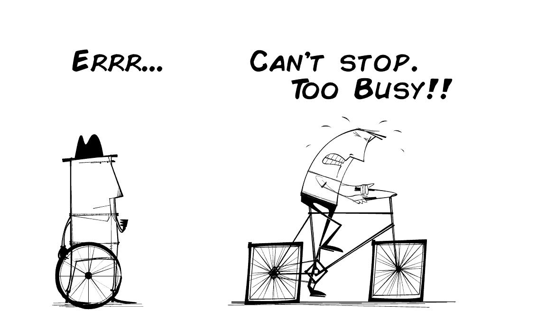 Heb jij een toekomstvisie of ben je druk druk druk?