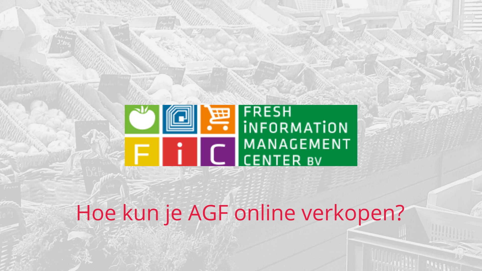 AGF online verkopen