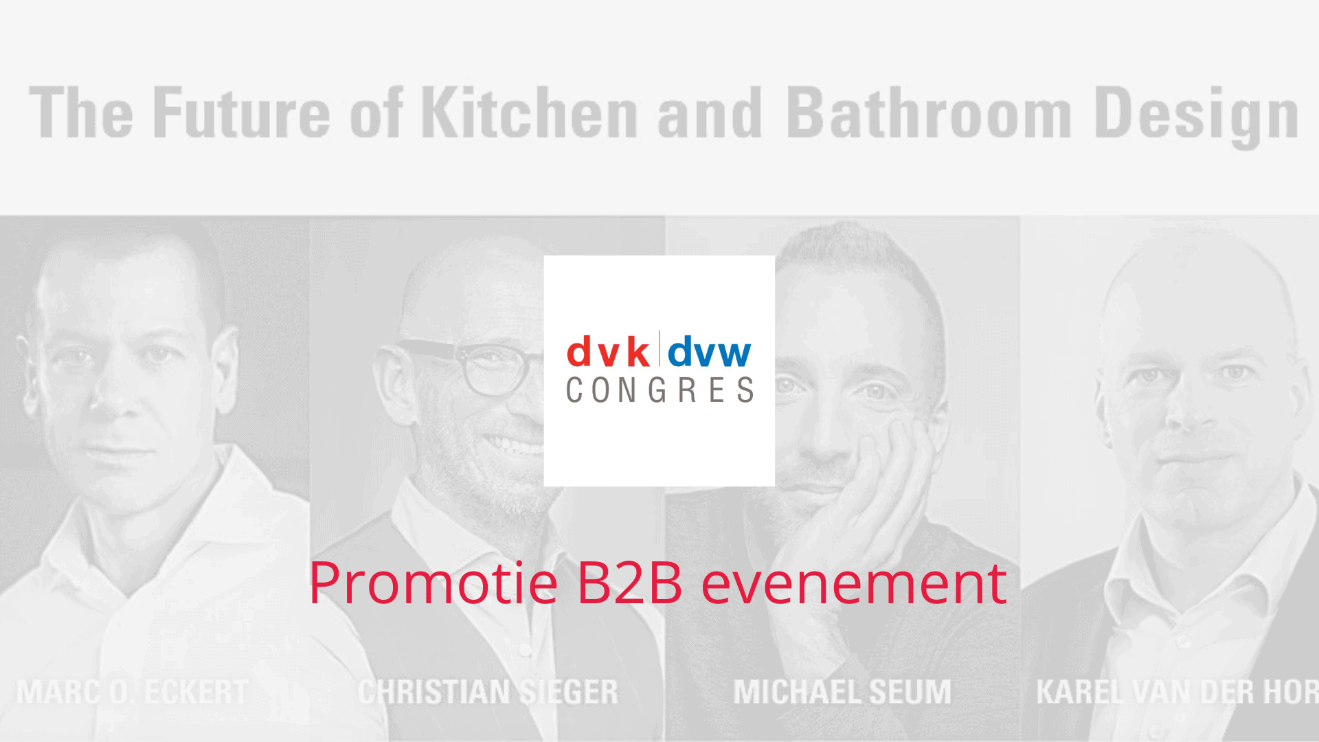 B2B evenement promoten